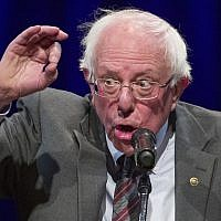 In this Nov. 27, 2018, photo, Sen. Bernie Sanders, I-Vt., speaks about his new book, 'Where We Go From Here: Two Years in the Resistance' in Washington. (AP Photo/Alex Brandon)