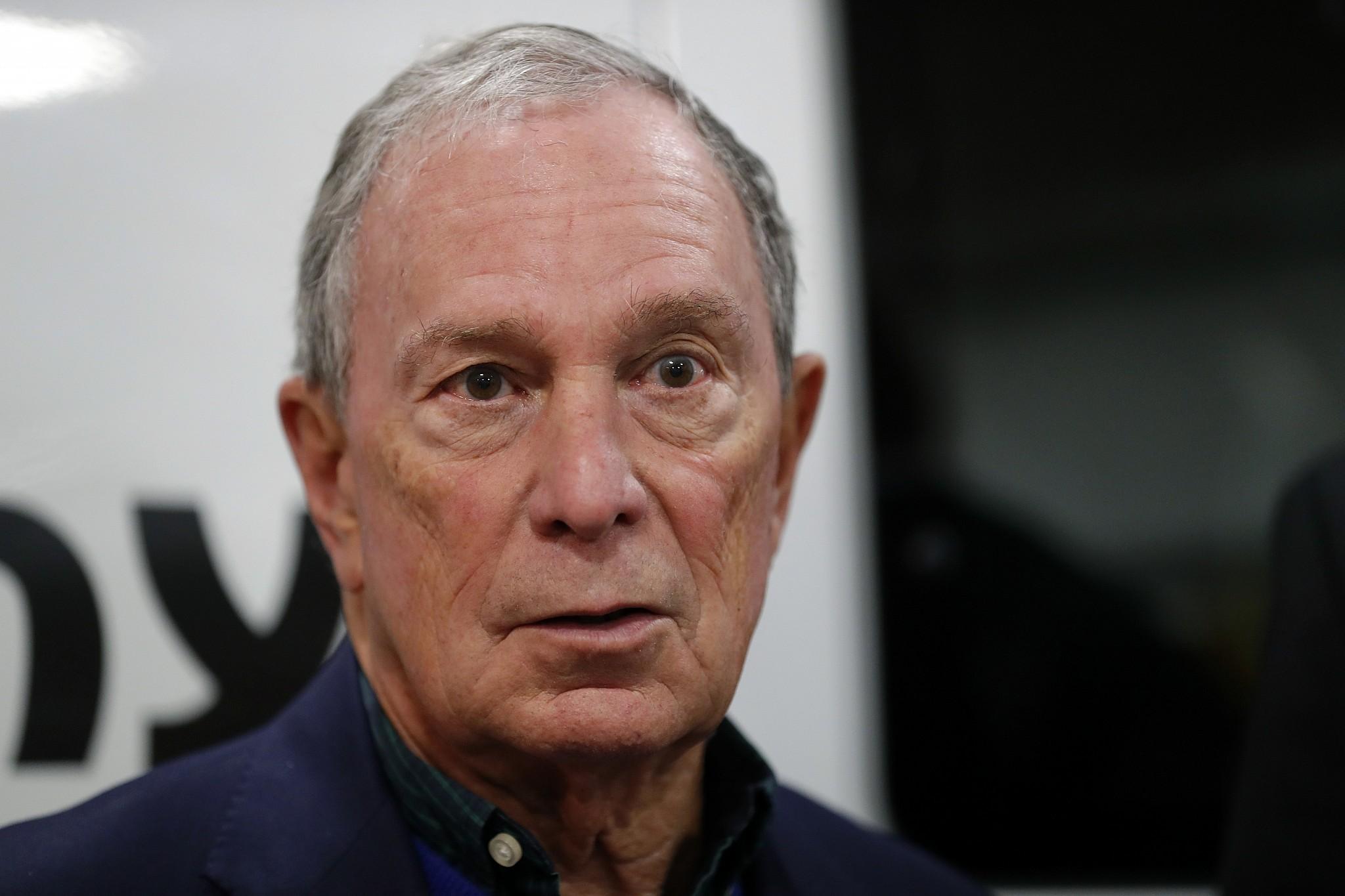 Bloomberg says he'd self-fund White House bid if he runs in 2020