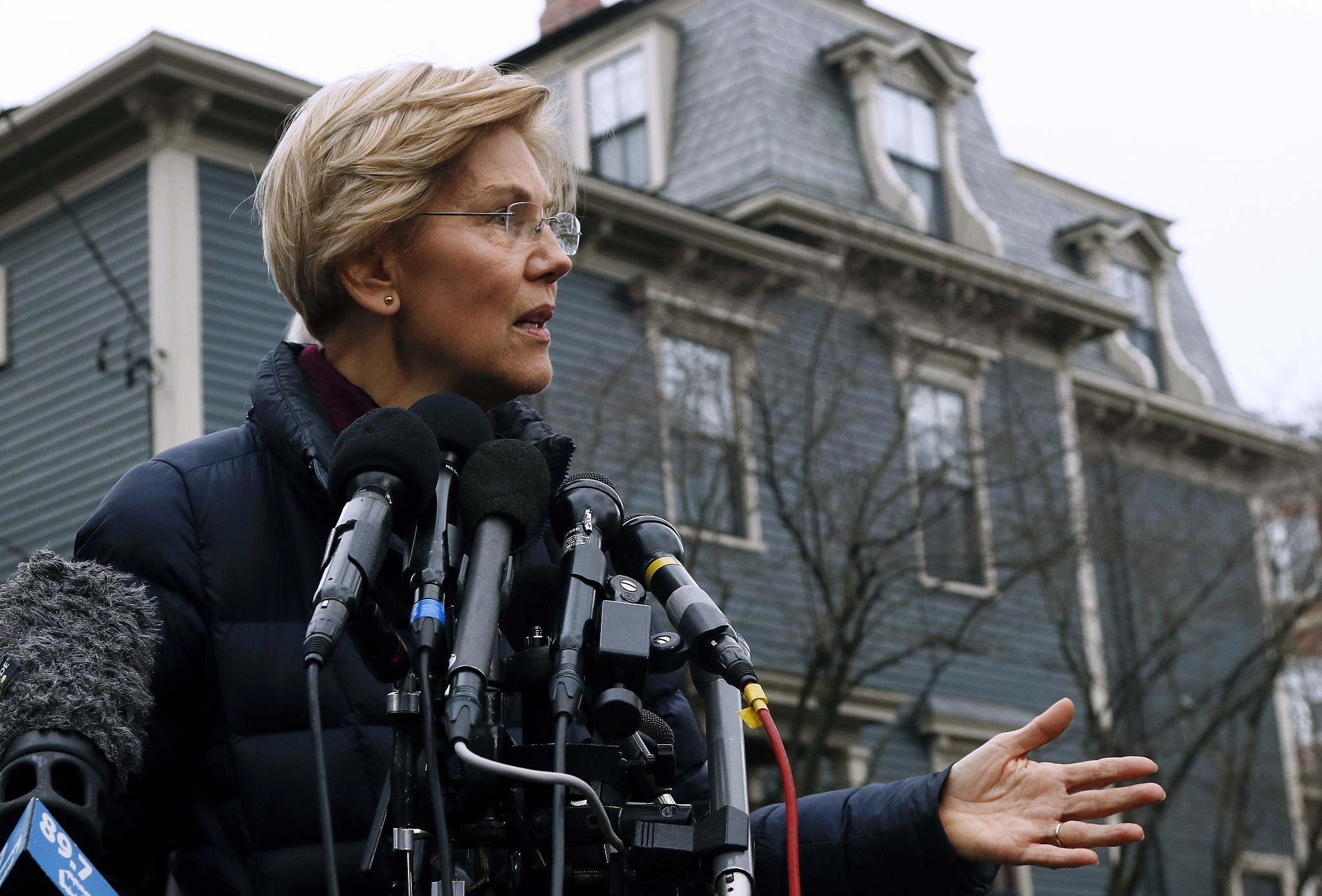 U.S.  senator Elizabeth Warren takes step toward presidential run