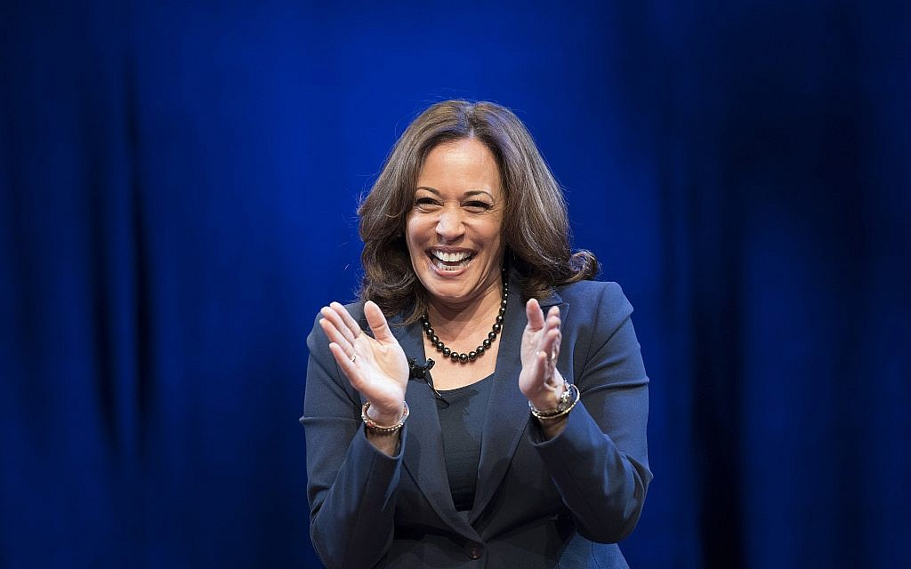 5 Jewish things to know about likely US presidential candidate Kamala Harris