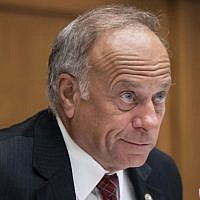 In this June 8, 2018 file photo, Rep. Steve King is seen at a hearing on Capitol Hill in Washington (AP Photo/J. Scott Applewhite, File)