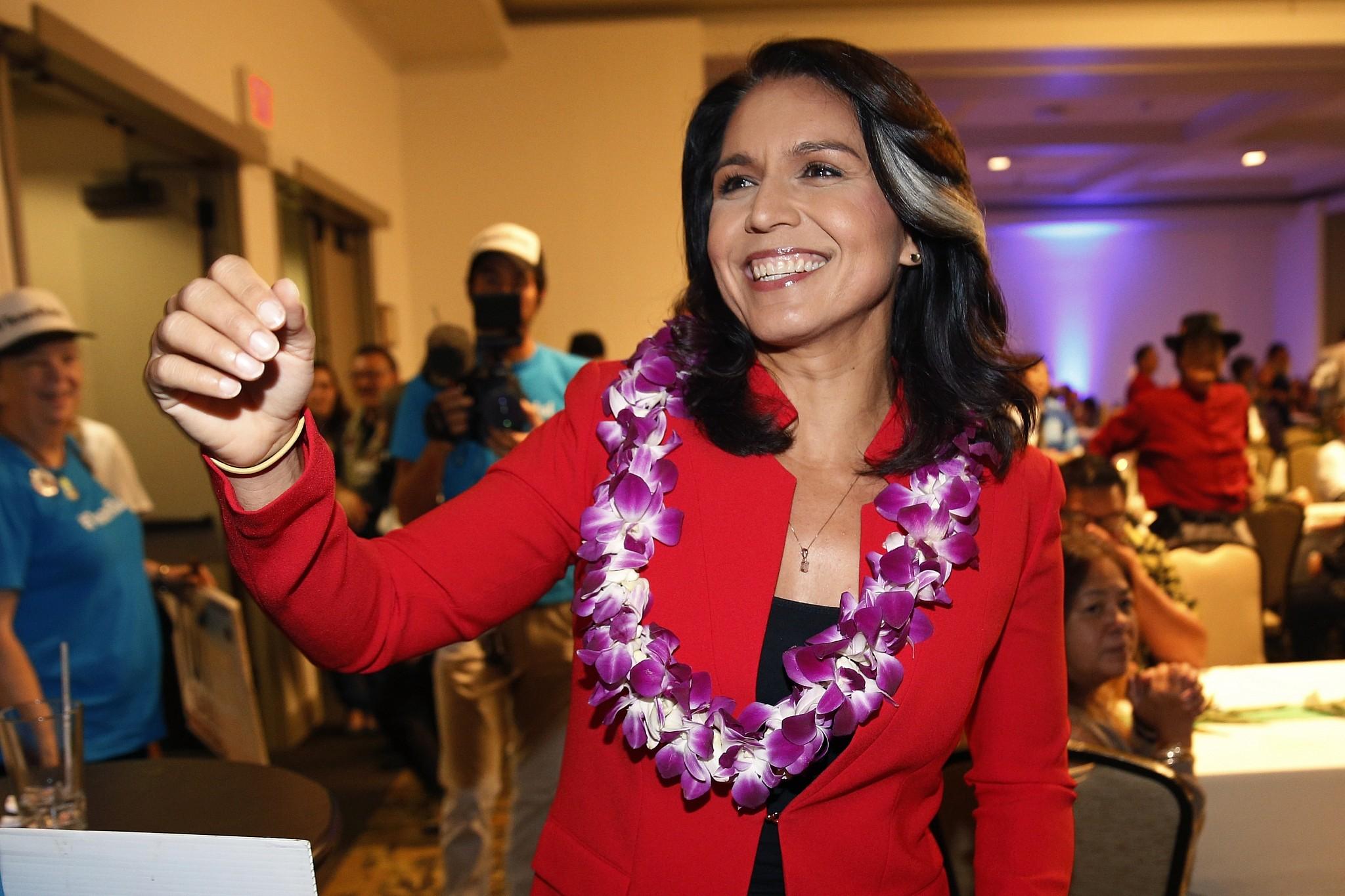 Tulsi Gabbard, Hawaii Democrat, says she will run for president in 2020