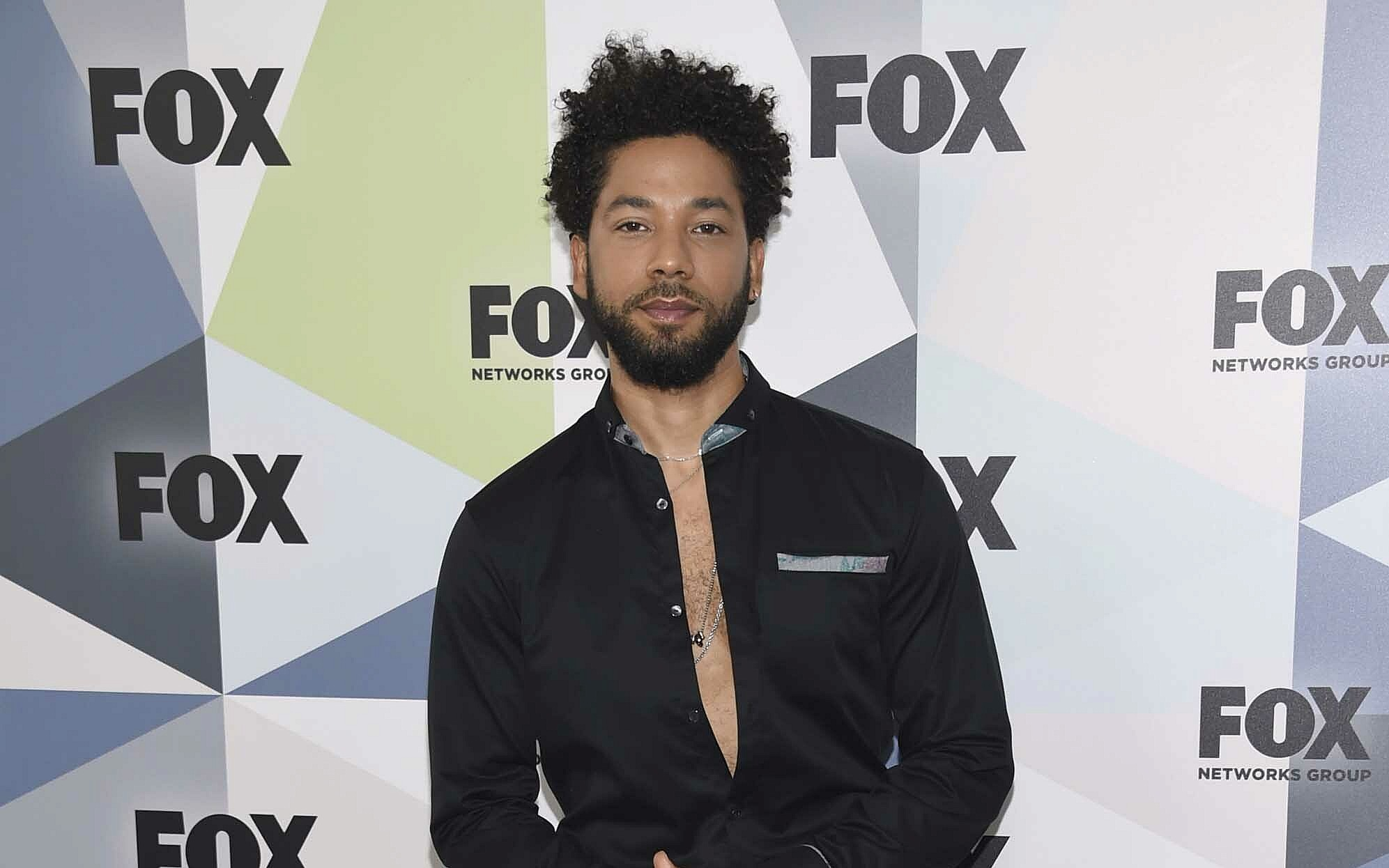Jussie Smollett refutes police claim that he hired men to assault him
