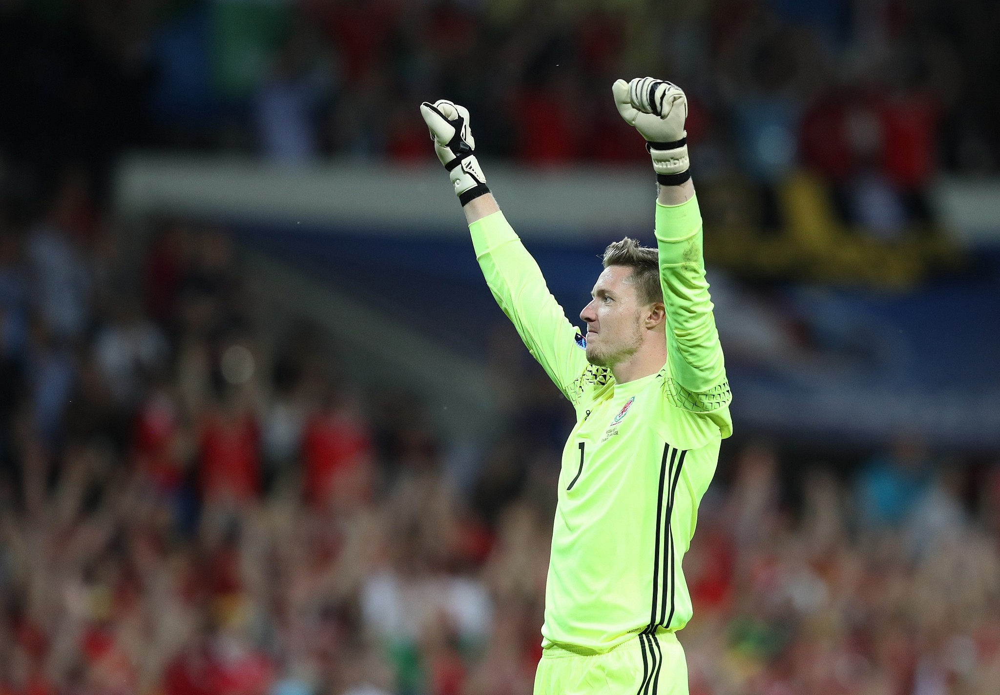 Wayne Hennessey denies making 'Nazi salute' in Instagram photo