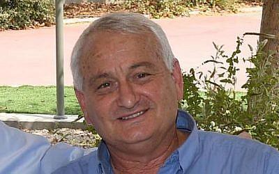 Alon Shuster, former head of the Sha'ar Hanegev Regional Council (GPO - Mark Nayman)