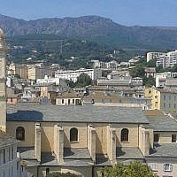 A view of the skyline of Bastia in northern Corsica. (Wikipedia/BTH/CC BY-SA)