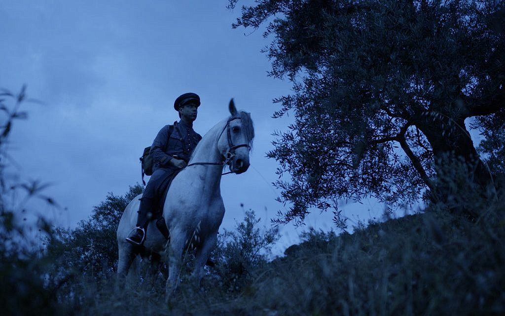 Portuguese army captain Arthur Carlos de Barros Basto (Rodrigo Santos) rides on horseback through the rugged mountain countryside on an outreach mission to crypto-Jews in a scene from the new historical drama 'Sefarad.' (Courtesy Miami Jewish Film Festival)