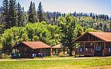 Illustrative: Cabins at Camp Tawonga, a Jewish summer camp in North California. (Courtesy of Camp Tawonga)