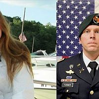 Navy Chief Cryptologic Technician Shannon Kent, 35, from upstate New York, and Army Chief Warrant Officer Jonathan Farmer (US Navy)