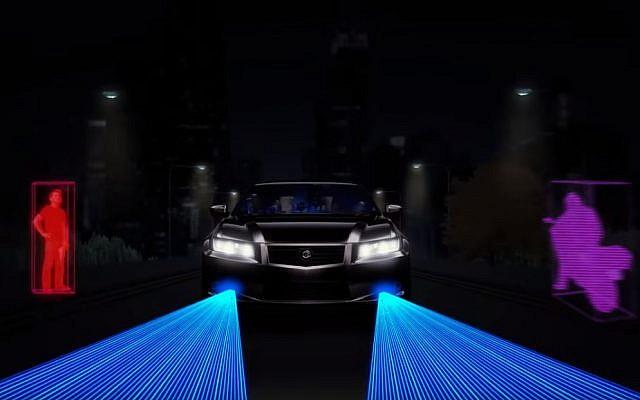 Israeli startup Innoviz Technologies has developed 3D LiDAR sensors for self-driving cars (YouTube screenshot)