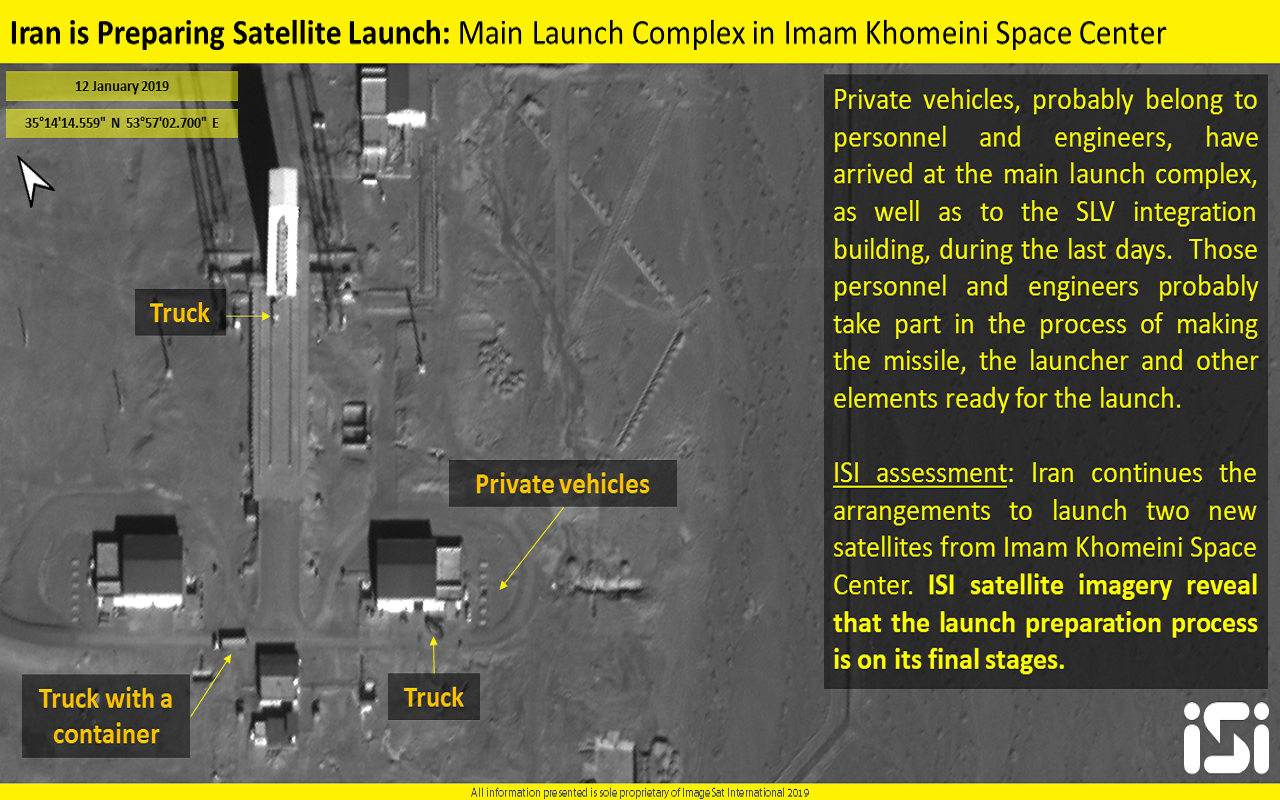 USA accuses Iran's attempt to launch satellite a missile threat