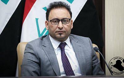 Iraqi Parliament First Deputy Speaker Hassan Karim al-Kaabi. (Iraq Parliament website)