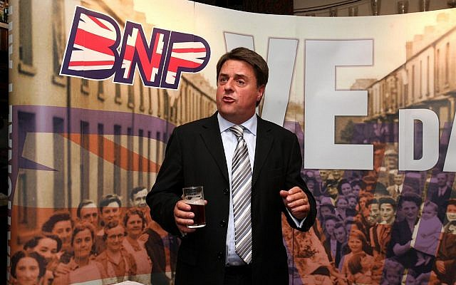 Nick griffin bnp from flickr user britishnationalism UK Jews face 'perfect storm' with new wave of far-right extremists, radical left