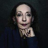 Acclaimed American author Joyce Carol Oates will be the recipient of the 2019 Jerusalem Prize, to be awarded at the May 2019 Jerusalem International Book Forum (Courtesy Dustin Cohen)