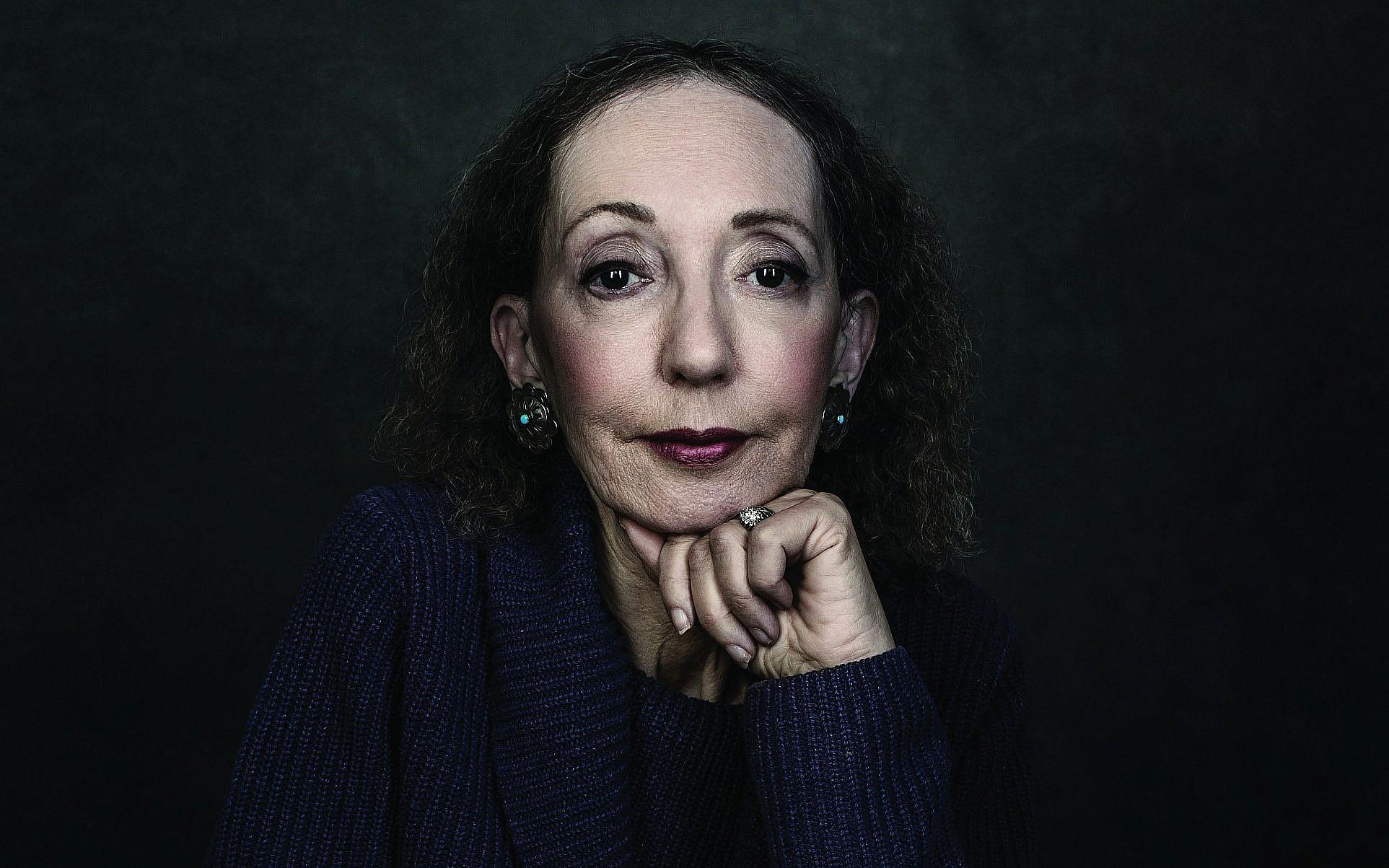 On first Israel visit, Joyce Carol Oates laments family's denial of