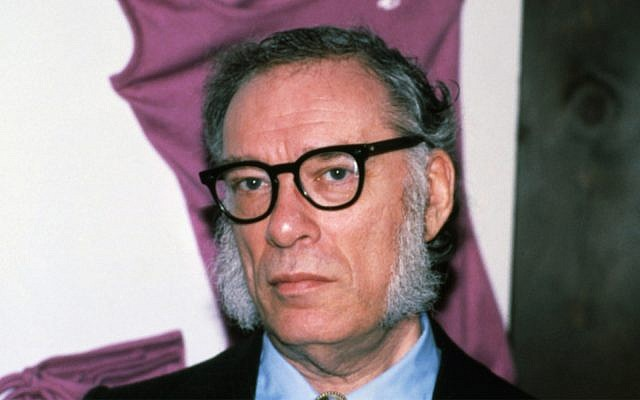 Portrait of author Isaac Asimov taken in February 1979 at his home in New York City. (AP Photo/Marty Reichenthal)