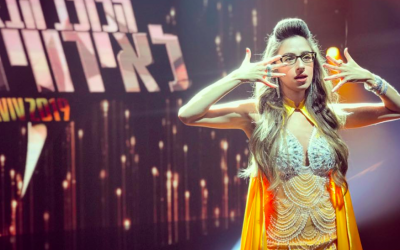 Shefita, the rising star at 'HaKochav Nolad,' the Rising Star franchise that creates the Eurovision contestant (Courtesy Shefita)
