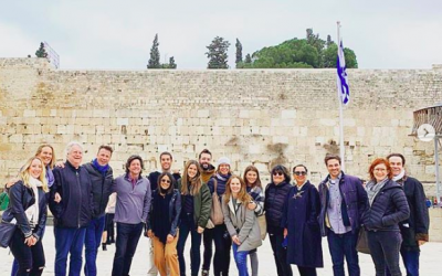 Celebrity Chef's Birthright trip to Israel, January 29,2019 (Courtesy Celebrity Chef's Birthright)