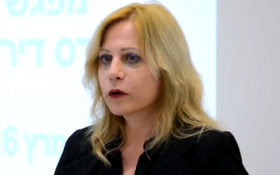 Legal counsel to the Prime Minister's Office Shlomit Barnea Farago (YouTube screenshot)