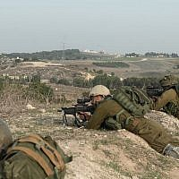 Israeli troops in newly created Gates of Fire Battalion simulate war with Hezbollah terrorist group in northern Israel in December 2018. (Israel Defense Forces)