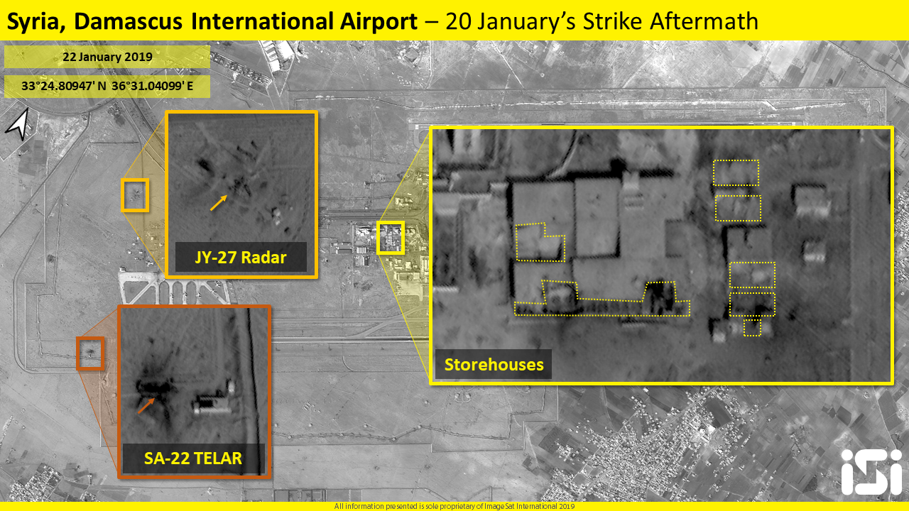 Israel launches series of retaliatory airstrikes at Iranian interests in Syria