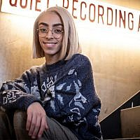 French singer Bilal Hassani poses in Paris on January 28, 2019. Bilal Hassani, 19, will represent France at the 2019 Eurovision Song Contest in May. (Thomas Samson / AFP)