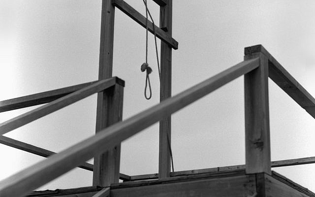 Illustrative photo of a gallows (raw206; iStock by Getty Images)