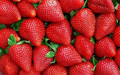 An illustrative image of fresh strawberries (MariuszBlach; iStock by Getty Images)
