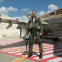 New Right candidate Matan Kahana before his discharge from the air force (Avichai Socher)