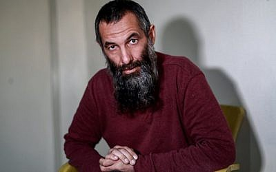 Alexandr Ruzmatovich Bekmirzaev, a 45-year-old Belarusian native and naturalised Irish citizen who was detained along with four other purported foreign jihadists by the Syrian Democratic Forces (SDF), January 11, 2019. (Delil Souleiman / AFP)