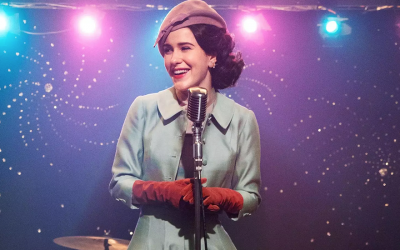 Rachel Brosnahan plays Midge Maisel in the Emmy-winning show 'The Marvelous Mrs. Maisel.' (Amazon Prime via JTA)