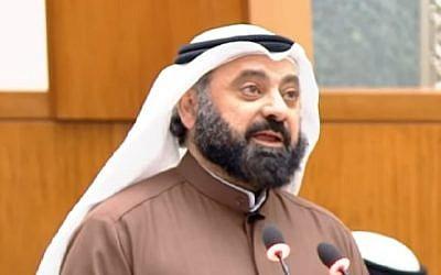 Kuwaiti MP Waleed al-Tabtabai. (YouTube screenshot)