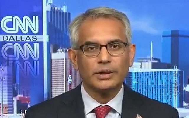 Shahid Shafi, Republican Party vice chairman in  Tarrant County, Texas (Screen grab via CNN)