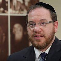 Rabbi Yechiel Kalish (YouTube screenshot)
