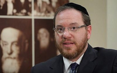 Rabbi Yechiel Kalish (YouTube screenshot)