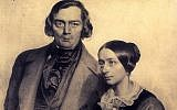 Robert and Clara Schumann, the married composers whose relationship was tried by mental illness and a mutual affection for Johannes Brahms, are the subject of 'Love Letters,' a Valentine's Day concert performed on February 14, 2019 by The New Israeli Opera (Courtesy PR)