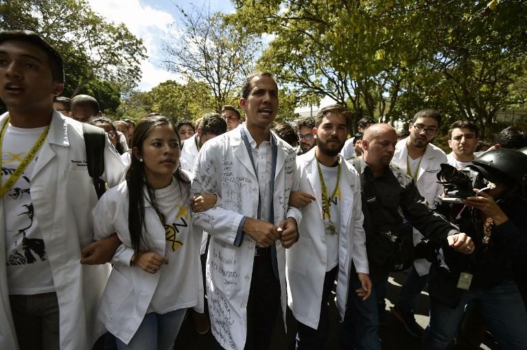 UK recognises Juan Guaido as interim President of Venezuela