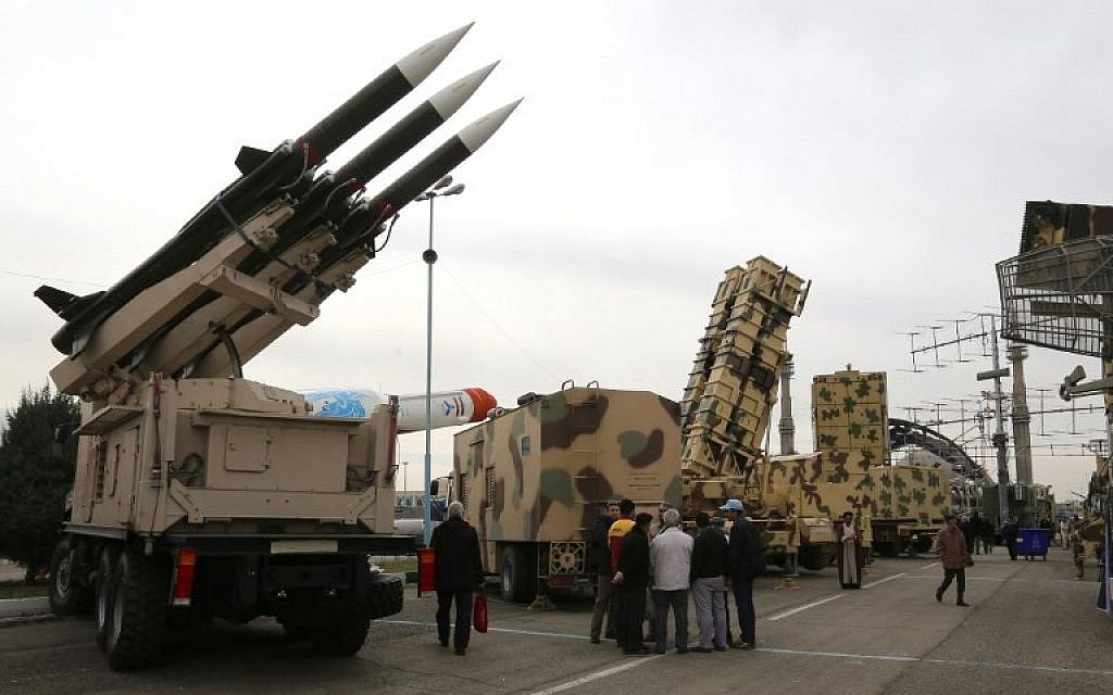 Iranian air defenses shoot down drone over country's south, local media reports