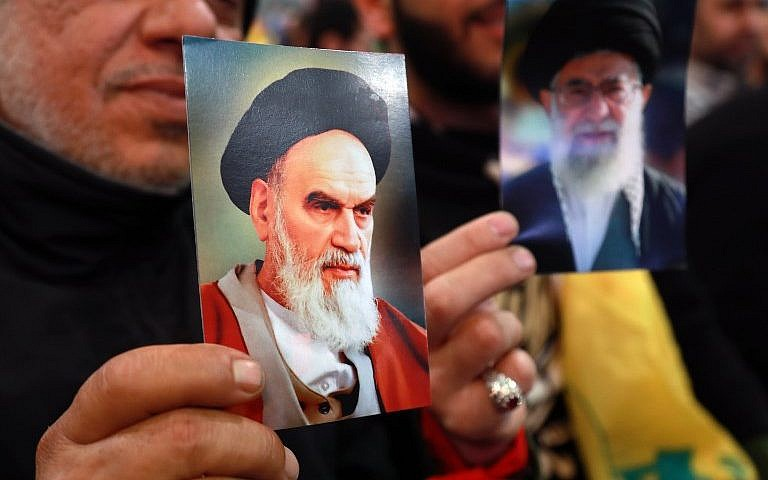 Militant Iran Taunts US on Revolution's 40th Birthday