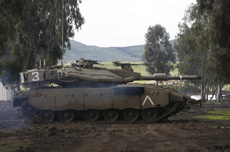 Israeli Strike in Syrian Golan Destroyed Iranian Observation Network