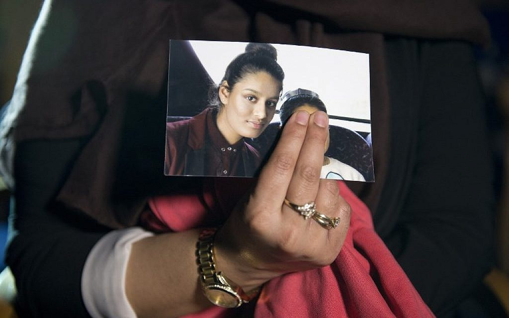 IS teen's wish to return stirs UK debate over jihadi brides