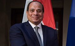 Egypt's President Abdel Fattah el-Sissi at the 55th Munich Security Conference in Munich, southern Germany, on February 16, 2019 (Sven Hoppe / DPA / AFP)