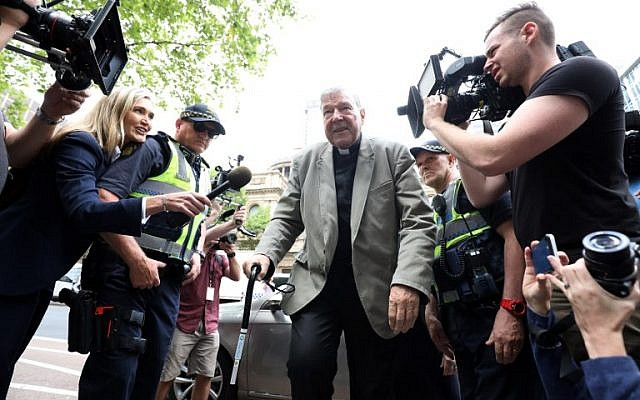 Australian Cardinal George Pell convicted of child sex
