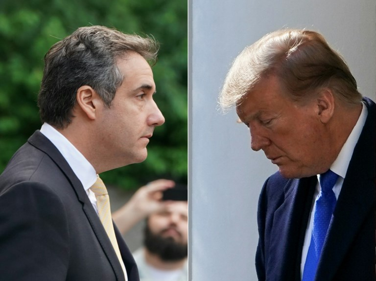 Michael Cohen: the long face of the lawyer