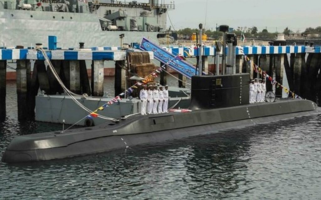 Iran shows off new destroyer, cruise-missile capable submarine during navy drill   The Times of Israel