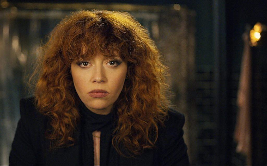 Natasha Lyonne stars in the existentialist comedy 'Russian Doll.' (Courtesy Netflix)