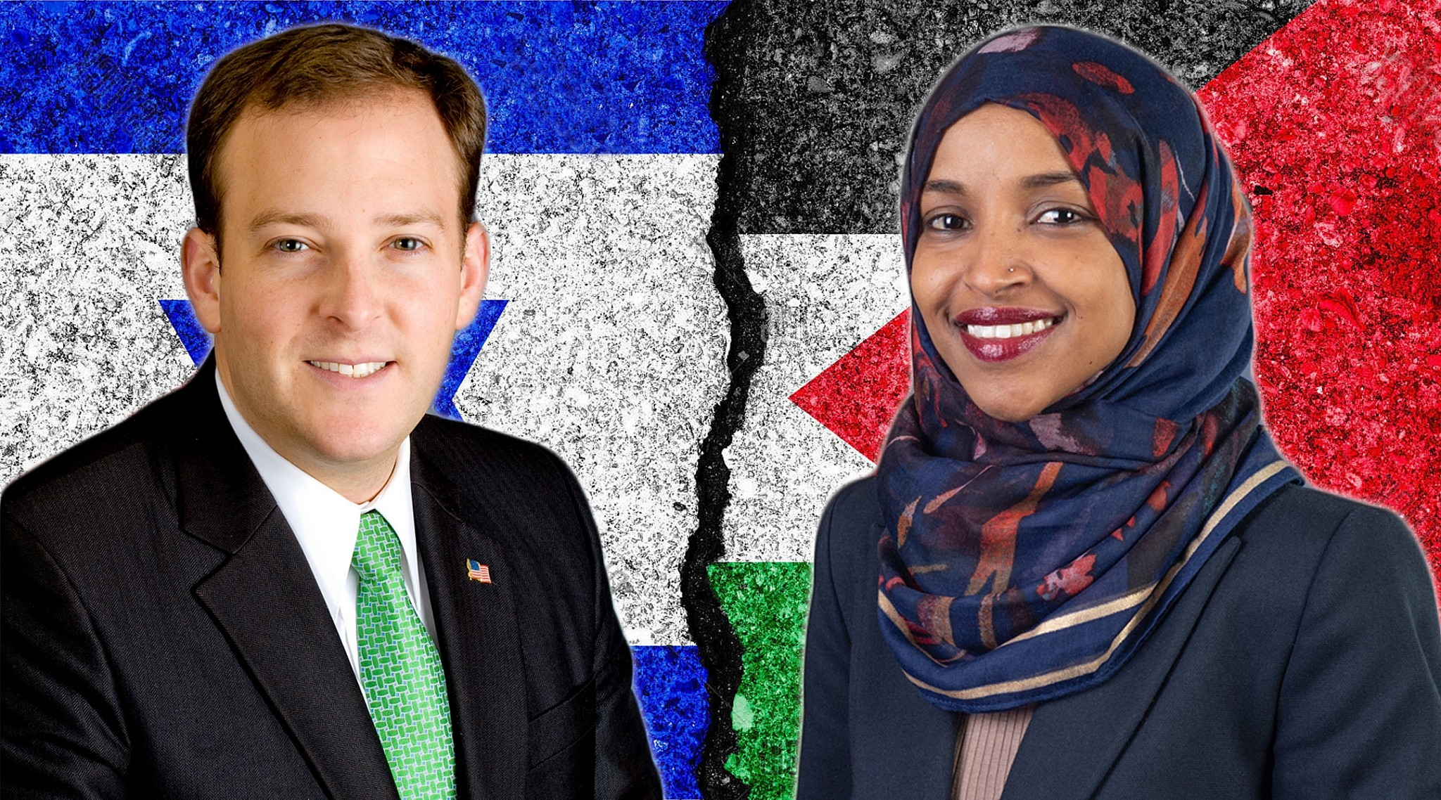Rep. Omar: 'I Almost Chuckle' When Israel Is Called 'A Democracy'