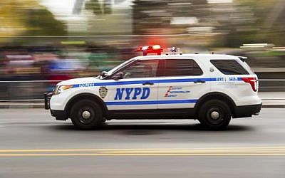 A New York Police Deparment vehicle. (AP)