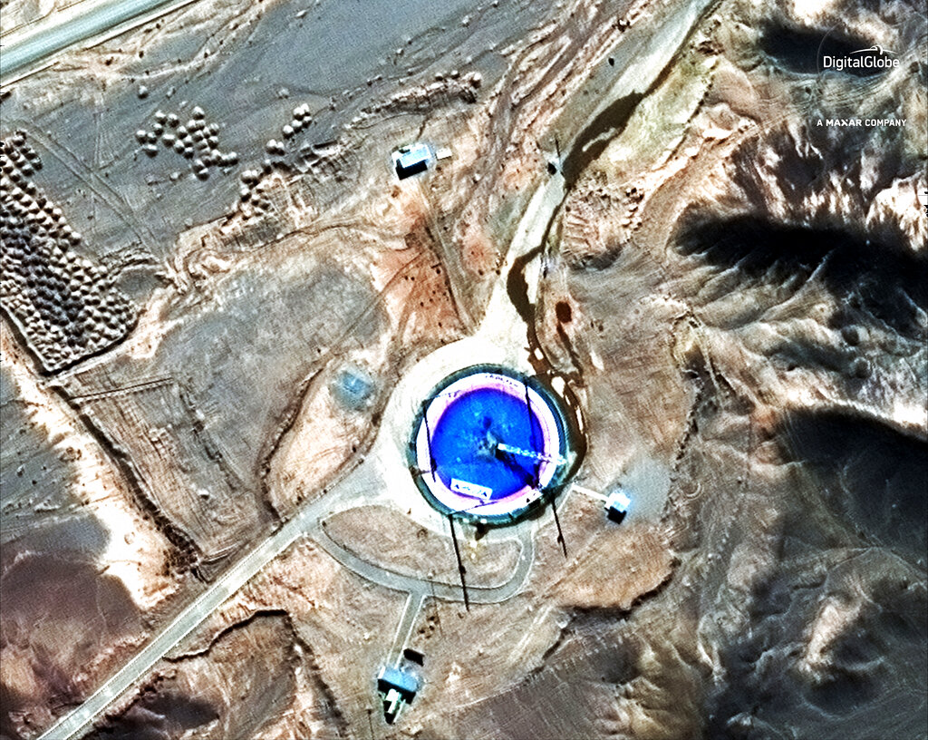 Iran suspected of launching satellite