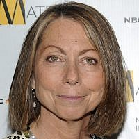 Jill Abramson attends the 2010 Matrix Awards presented by the New York Women in Communications at the Waldorf-Astoria Hotel in New York, April 19, 2010. (Evan Agostini/AP)